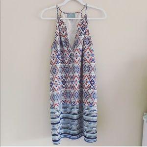 Price Drop❗️Anthro NWOT Skies Are Blue Aztec dress